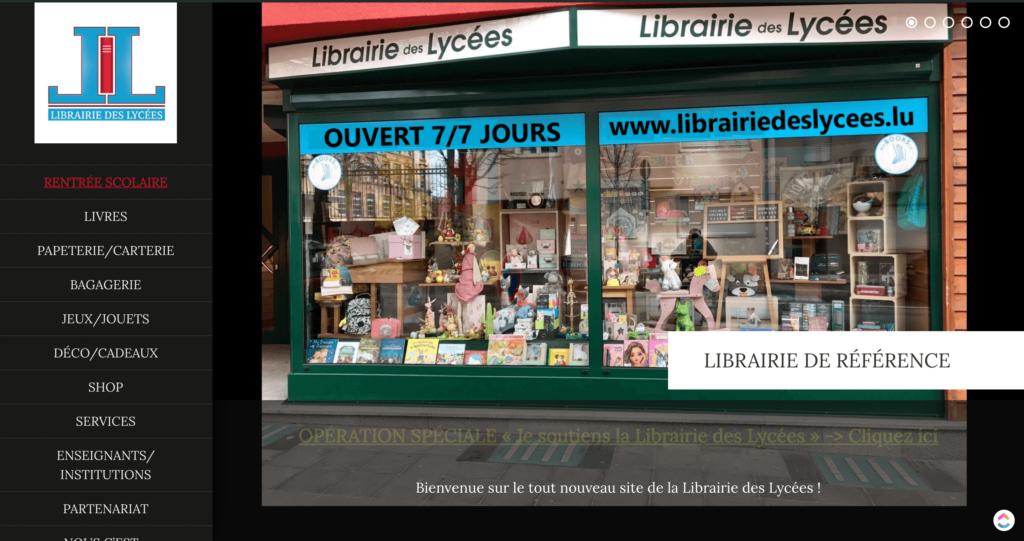 site-librairie-des-lycées
